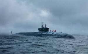 Russia's First Upgraded Borei-Class Ballistic Missile Sub Completes Sea and Weapons Trials