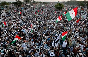 Pakistan's Massive March Calls out Military Overreach