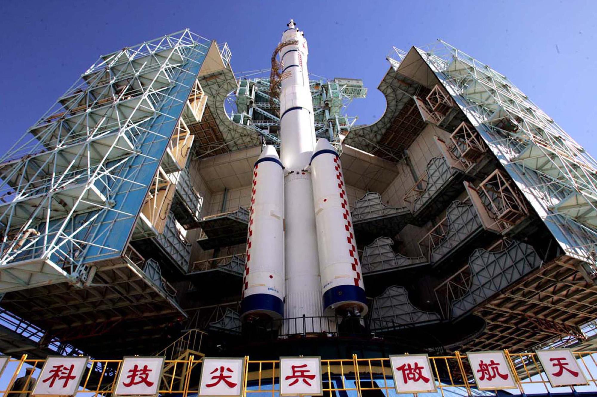 5 Rocket Large Model Shenzhou Long March Spacecraft CZ