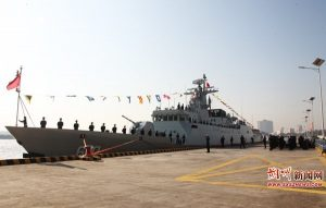 China's People Liberation Army Navy Commissions 42nd and 43rd Type 056/056A Corvettes