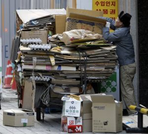 China's Waste Import Ban Weighs Heavily on South Korean Wastepickers