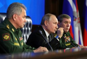 Putin Says Russia Is Leading World in Hypersonic Weapons