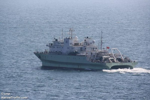 Report: Indian Navy Ejected Chinese Research Ship From Indian Exclusive Economic Zone
