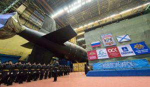 Russia Launches New Yasen-M Nuclear Attack Submarine