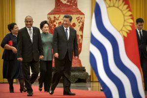 Kiribati President Makes First Trip to China After Switch From Taiwan