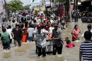The Unequal Impact of Indonesia's New Year Flood