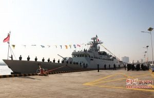 China's People's Liberation Army Navy Commissions New Type 056A Corvette