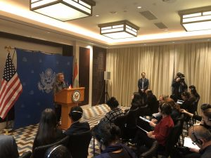 Security at the Core of Senior US Diplomat's Visit toTajikistan