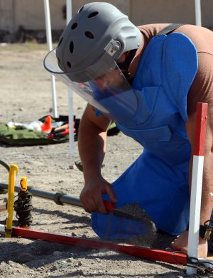 Uzbekistan Reportedly Completes Demining Work on Tajik Border