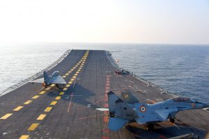 Naval Version of India's Tejas Fighter Conducts Maiden Flight From Aircraft Carrier