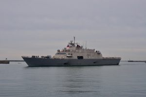 US Navy to Install Laser Weapon on Littoral Combat Ship