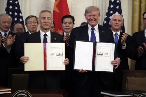 China, US Sign 'Historic' Trade Deal