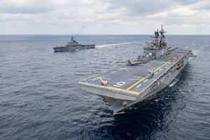 US, Japan Hold Naval Exercise in East China Sea