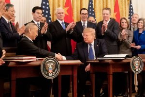 Pomp and Circumstance: Interpreting the Signing Ceremony of the US-China Trade Deal