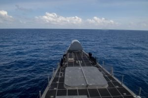 South China Sea: US Littoral Combat Ship Conducts Freedom of Navigation Operation