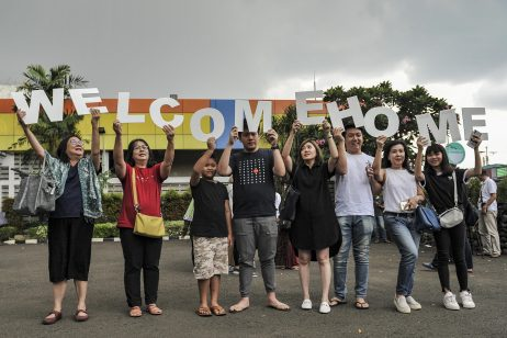 After 14-Day Quarantine, 238 Indonesians From Wuhan Finally Come Home