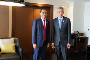 Singapore-Indonesia Relations in the Headlines With President's First State Visit