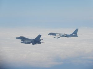 Taiwan Scrambles Fighters to Intercept Chinese Military Aircraft