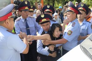 Arrests at Rallies as Kazakhstan Contemplates New Protest Law