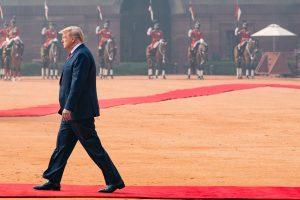 Trump, in India, Hints at Revitalized 'Quad' Initiative