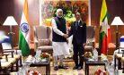 Myanmar's India Balancing Act