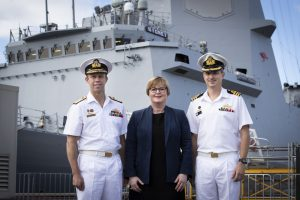 Australia's Third and Final Air Warfare Destroyer Delivered to Navy