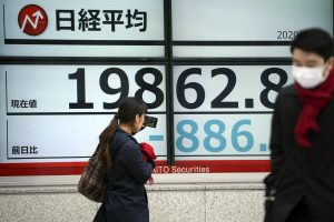 Japan's Economy Shrinks 7 Percent in Last Quarter, Risks Recession