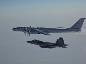 US, Canadian Fighters Intercept 2 Russian Tu-142MZ Aircraft North of Alaska