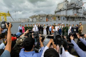 Even Coronavirus Couldn't Stop the 2nd US Carrier Visit to Vietnam