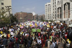 Behind Pakistani Feminists' Fight for Rights