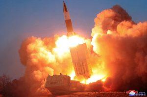 North Korea Launches 2 Short-Range Ballistic Missiles