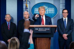 Trump's COVID-19 Blame Game