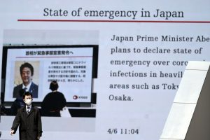 Japan's Prime Minister to Declare State of Emergency as Early as Tuesday