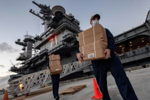 US Navy Reports First COVID-19 Death of USS Theodore Roosevelt Crew Member