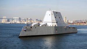 US Navy Accepts Delivery of USS Zumwalt Next-Generation Destroyer