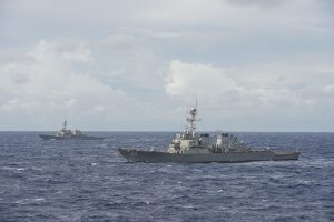 China Says PLA Navy Ships Were Sent to 'Expel' US Warship From Paracel Islands