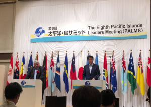 Japan and China's Competition in the Pacific Islands