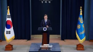 Moon Jae-in Holds His North Korea Bet