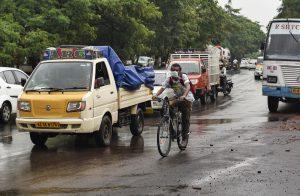 Some Traffic Returns to Roads as India Eases Virus Lockdown