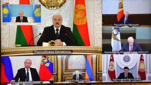 At Eurasian Economic Union E-Summit, Tokayev Finds His Voice