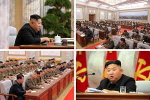 At Meeting, North Korea's Kim Touts 'Nuclear War Deterrent'