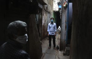 Amid Virus, Those in India's Largest Slum Help One Another