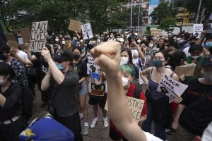Japan Holds Anti-Racism Rally, Protesting Homegrown Police Brutality in Solidarity With Black Lives Matter