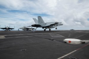 U.S. Navy 'Dual Carrier Operations' Send Message to China, Allies