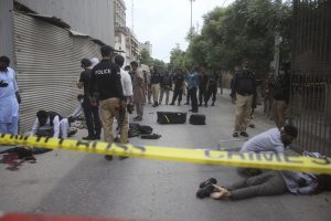 Militants Attack Karachi Stock Exchange, Killing at Least 3