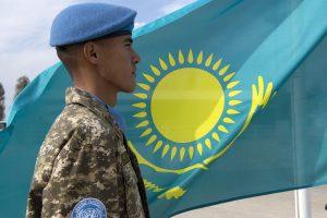 Kazakhstani Blue Helmets in Lebanon
