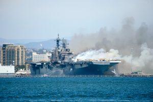 The Burned Bonhomme Richard: Lasting Damage for the US Navy