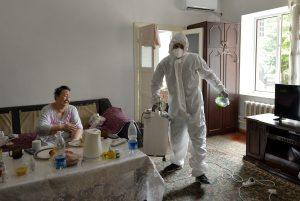 Volunteers to the Rescue as Virus Rages in Kyrgyzstan