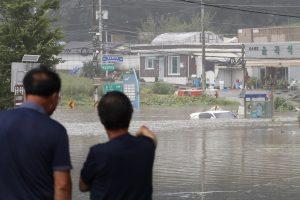 Heavy Rains Wreak Havoc on South Korea