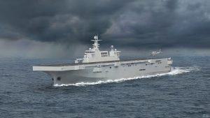 China's First Type 075 Amphibious Assault Ship Begins Sea Trials